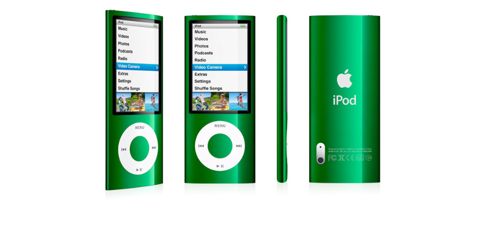 Amazon.com: Apple iPod nano 16 GB Green (5th Generation ...