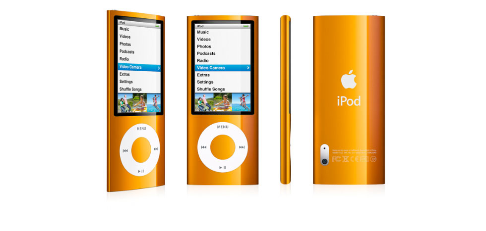 apple ipod nano 8 gb 5th generation orange. Black Bedroom Furniture Sets. Home Design Ideas