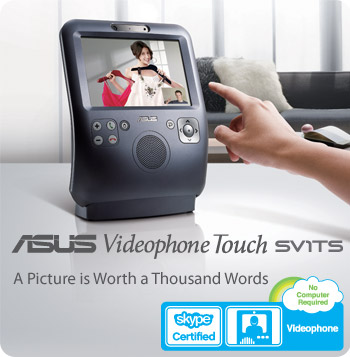 ASUS Videophone Touch SV1TS - bringing you closer