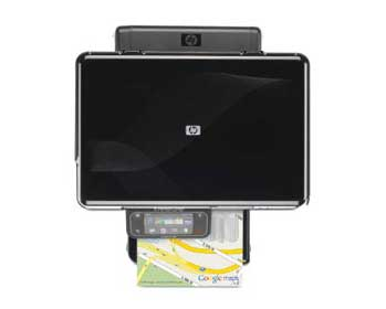HP Photosmart Premium Touchsmart Web All-in-One Top View