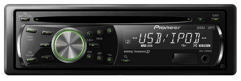 amazon com pioneer deh 2200ub cd receiver with ipod direct control rh amazon com 3 Tuning Pioneer Super Tuner 3D Clock