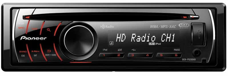 Amazon Pioneer Dehp5200hd Cd Receiver With Hd Radio And Ipod