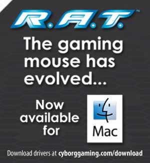 Chuột Game Thủ Cyborg RAT 7 Gaming Mouse for PC and MAC