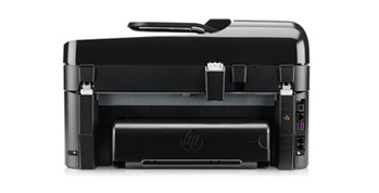 HP Photosmart Premium Fax e-All-in-One Back View