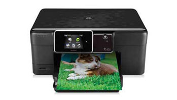 HP Photosmart Plus e-All-in-One Front View