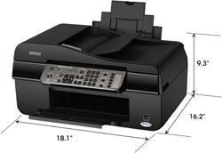 amazon com epson workforce 325 color inkjet all in one c11cb08201 rh amazon com