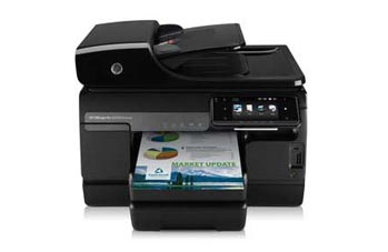 HP Officejet Pro 8500A Premium e-All-in-One Front View