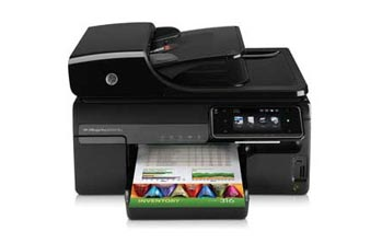 HP Officejet Pro 8500A Plus e-All-in-One Front View