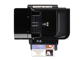 HP Officejet 6500A Plus e-All-in-One Top View