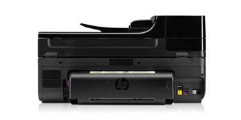 HP Officejet 6500A Plus e-All-in-One Back View