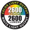 2600 Lumens