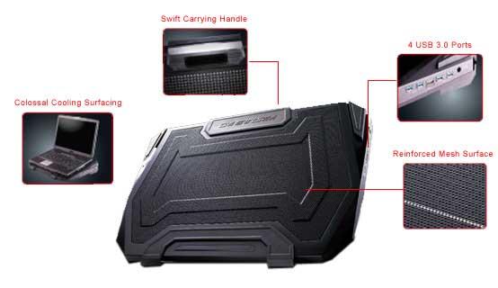 CM Storm SF-19 Strike Force USB 3.0 Notebook Cooler