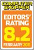 Editors Rating 8.2 Logo