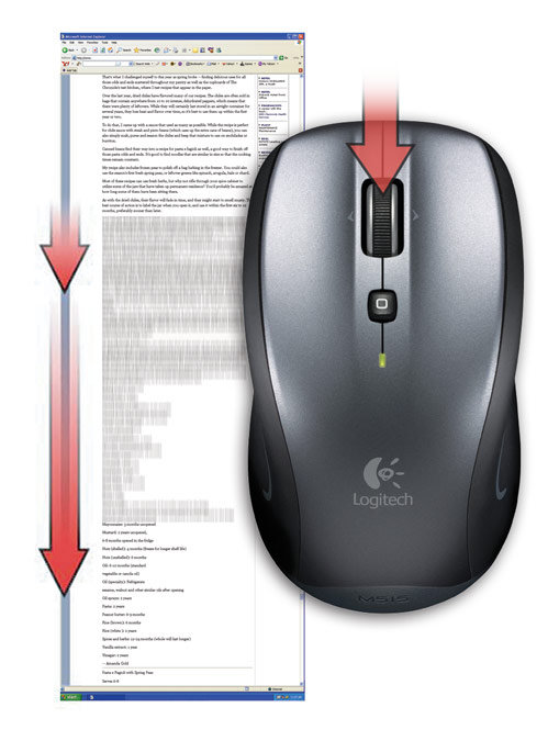 Amazon Com Logitech Couch Mouse M515 For Pc Or Mac