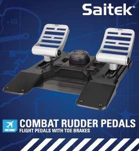 Mad Catz Pro Flight Combat Rudder Pedals Vista