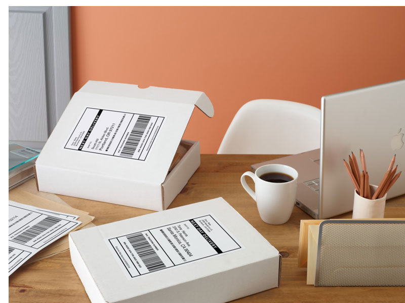 Box Label: Amazon.com : Avery Return Address Labels, White, 0.66 X 1