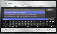 LG ST600 Smart TV Upgrader Web Browser