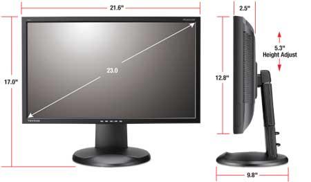 Amazon ViewSonic VP2365 LED 23 IPS Full HD 1080p