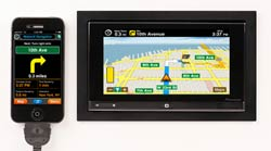 Pioneer AppRadio With MotionX-GPS