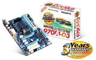 Drivers Gigabyte GA-970A-D3 3TB+