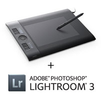 Wacom Intuos4 Medium with Lightroom