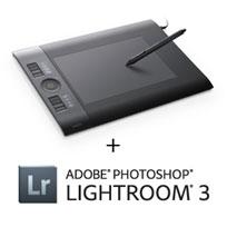 Wacom Intuos4 Medium with Lightroom