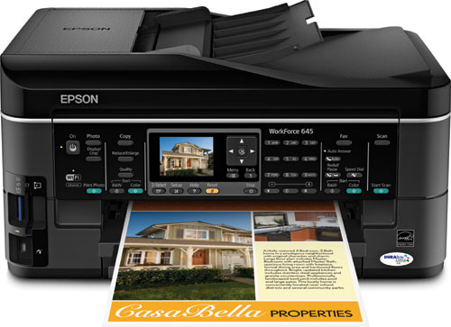 amazon com epson workforce 645 wireless all in one color inkjet rh amazon com  epson workforce 645 manual paper feed