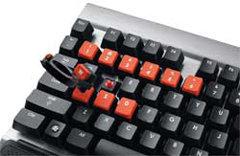 Cherry MX Red key switches