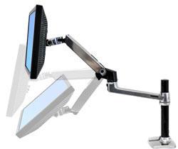 Amazon Com Lx Desk Mount Lcd Arm Tall Pole Computers