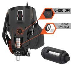 True 6400 DPI 'Twin-Eye' Laser Sensor with 4 Custom Settings