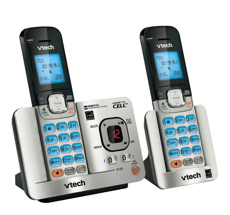 Amazon vtech ds65212 dect 60 2 handset landline telephone ds6521 2 cordless phone sciox Images