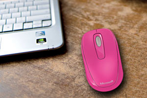 c82b31446dd Amazon.com: Microsoft 1000 Wireless Mobile Mouse, Magenta Pink (2CF ...