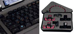 Mad Catz S.T.R.I.K.E. 7 Gaming Keyboard - Main Keyboard
