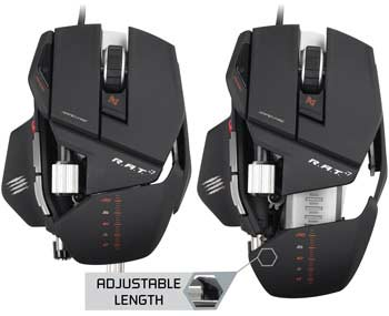 Mad Catz R.A.T. 7 Gaming Mouse - Take Control of Your Games