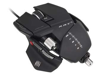 Mad Catz R.A.T. 5 Gaming Mouse for PC and Mac