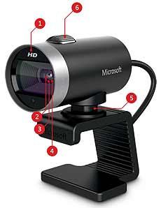 Microsoft LifeCam Cinema 720p HD Webcam for Business - Black B009CPC6QA 1