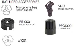 Included Accessories