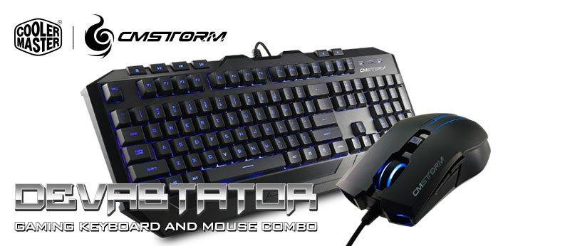 Amazon Com Cooler Master Devastator Led Gaming Keyboard