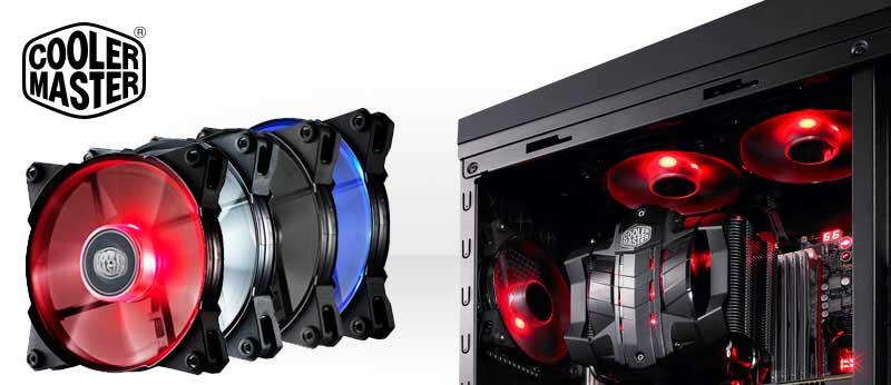 Amazon Com Cooler Master Jetflo 120 Pom Bearing 120mm