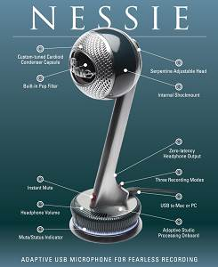 Nessie USB microphone from Blue Microphones