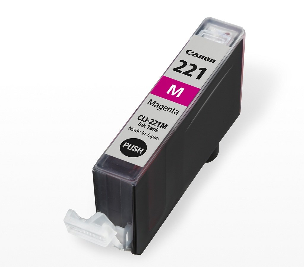 Amazon Canon CLI 221 Ink Tank Magenta Office Products