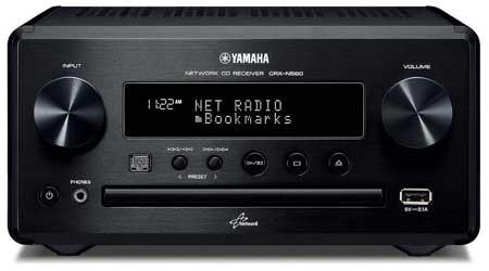 Amazon Com Yamaha Crx N560bl Micro Component Home Audio