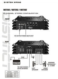 amazon com lanzar dct282 4000 watt 2 channel full fet class ab rh amazon com lanzar maxp104d wiring diagram lanzar maxp124d wiring diagram