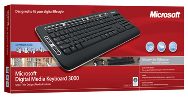Amazon Com Microsoft Digital Media Keyboard 3000 Electronics