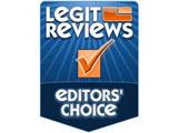 Legit Reviews editor's choice Award