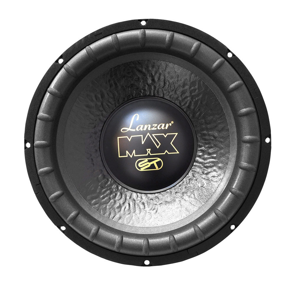 Lanzar 12in Car Subwoofer Speaker Black Non Pressed 8ohm Sub Wiring Diagram Max12 1000 Watt