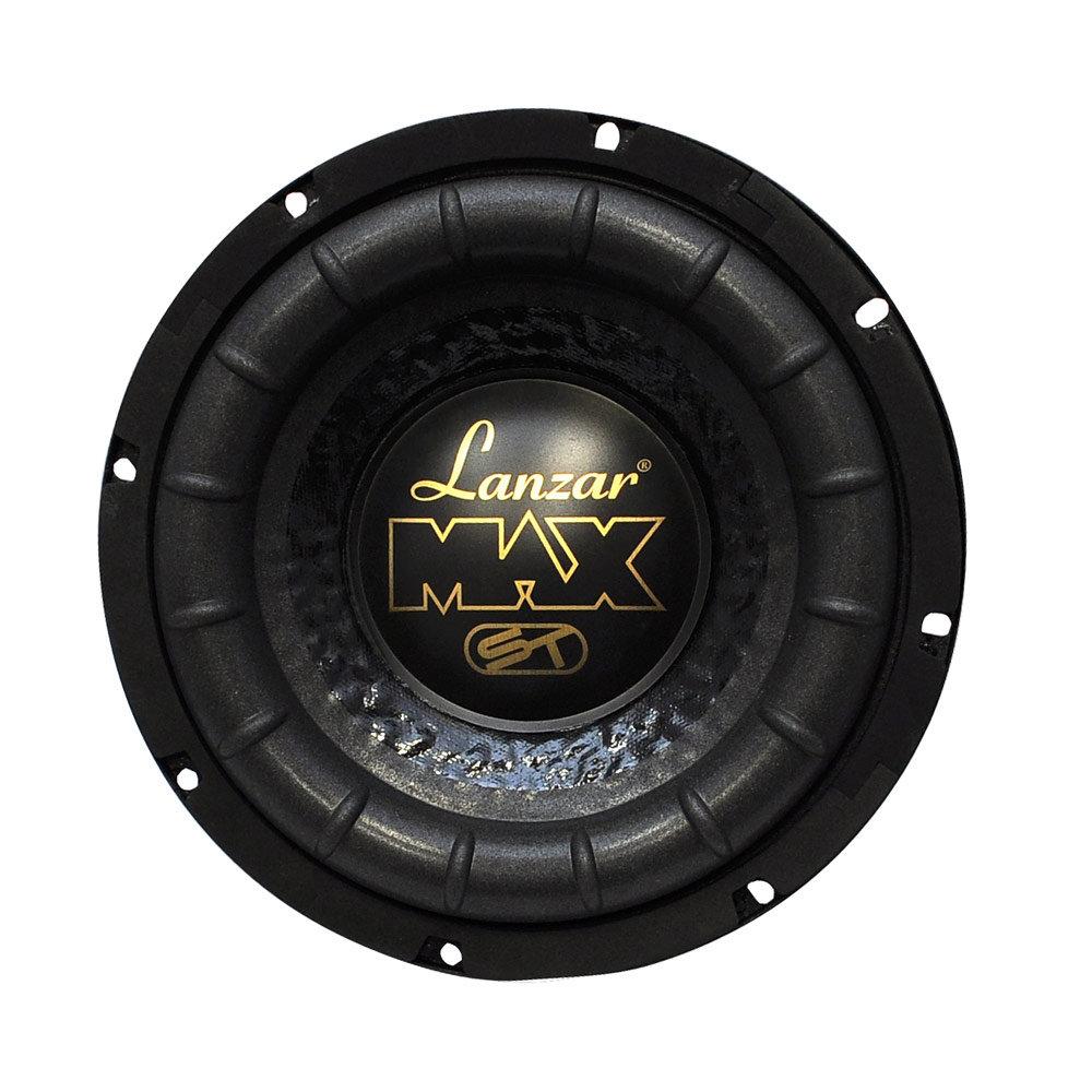 amazon com lanzar 8in car subwoofer speaker black non bridged subwoofer amplifier installation diagram subwoofer installation diagram