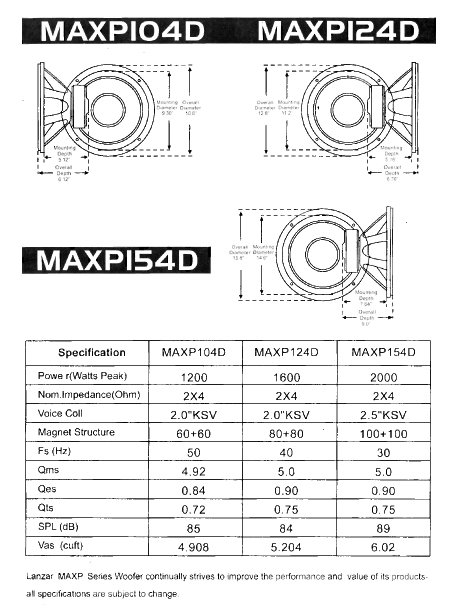 amazon com lanzar 12in car subwoofer speaker black non pressed installation specifications diagram
