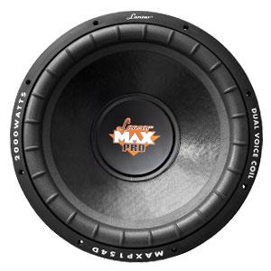 Lanzar MAXP154D 15'' 2000 Watt Subwoofer