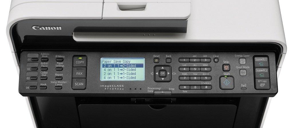 CANON IMAGECLASS MF4890DW TREIBER WINDOWS XP
